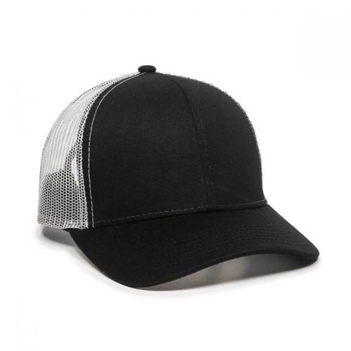 Custom Nylon Mesh Back Plastic Snap Hats