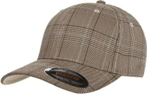 Custom Glen Check Flexift Hat