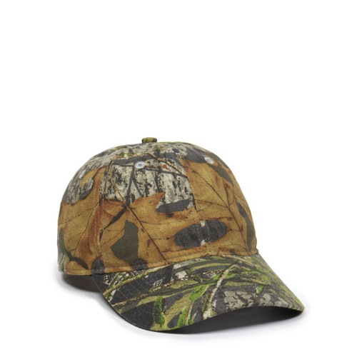 Custom Camo Ripstop Cotton, Low Profile Unstructured Hat