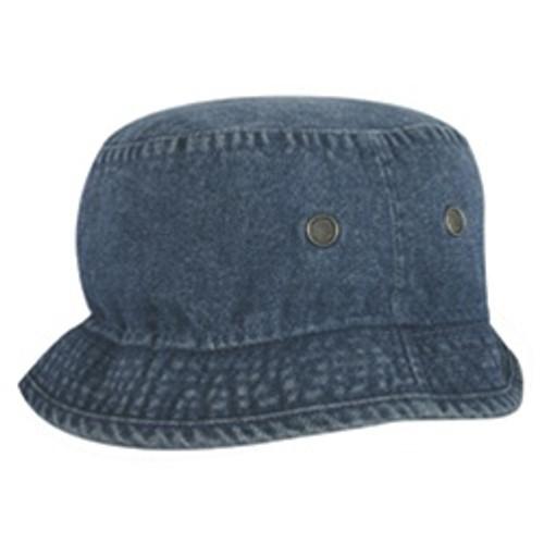 Custom Solid Color Cotton Bucket Hat