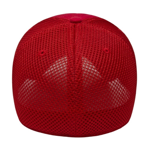 Custom Double Layer Mesh Structured Cap
