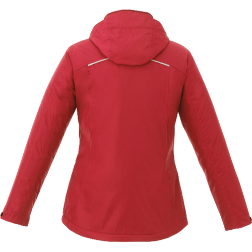 Embroidered Womens Arden Fleece Lined Jacket