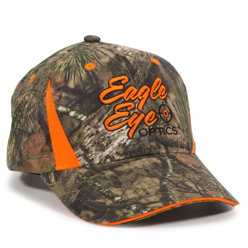 Promotoinal Camo Hat with Blaze Inserts