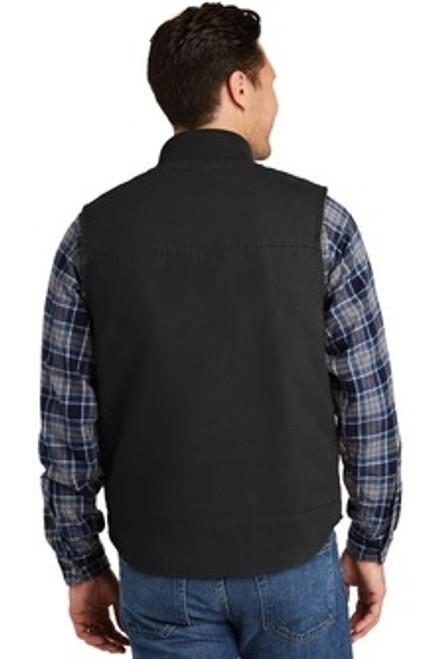 Custom CORNERSTONE Washed Duck Cloth Vest