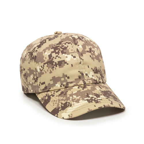 Promotional Unstructured Military Digital Camo Hat