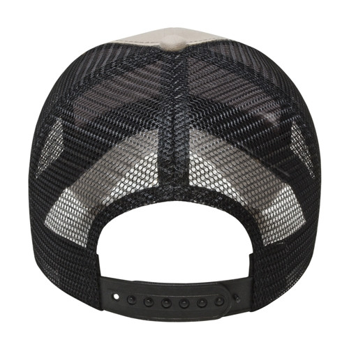 Embroidered Xtra Value Structured Mesh Back Hat with Plastic Snap Closure
