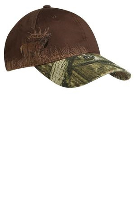 Custom Outdoors Pre Decorated Embroidered Licensed Camo Hat