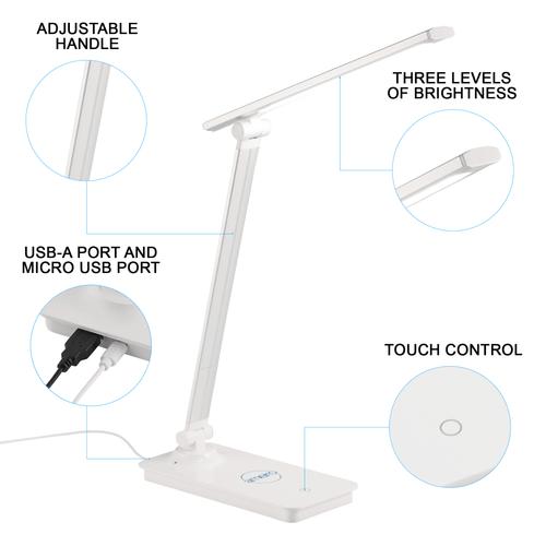 Custom Range Wireless Charging LED Lamp