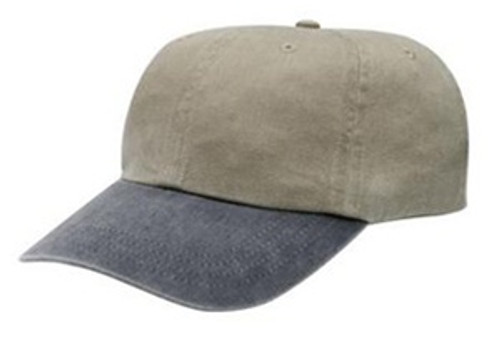 Custom Two Tone Pigment Dyed, Unstructured Hat