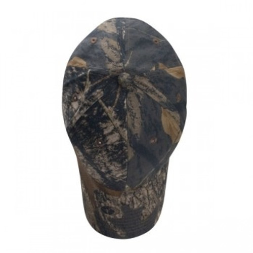 Custom Brushed Cotton Twill, Structured Camo Hat 1