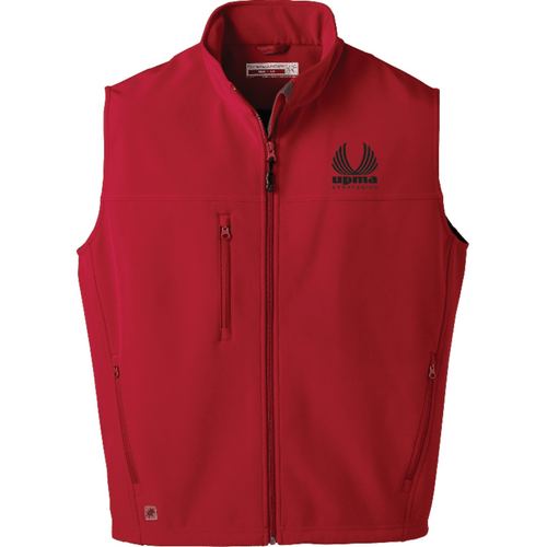 Embroidered Mens Innis Bonded Fleece Vest