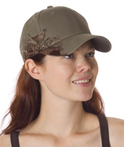 Customized Dri Duck Wildlife Series Cap