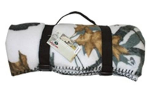 Custom Mossy Oak Deluxe Fleece Blanket
