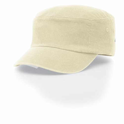 Embroidered Logo Military Cap