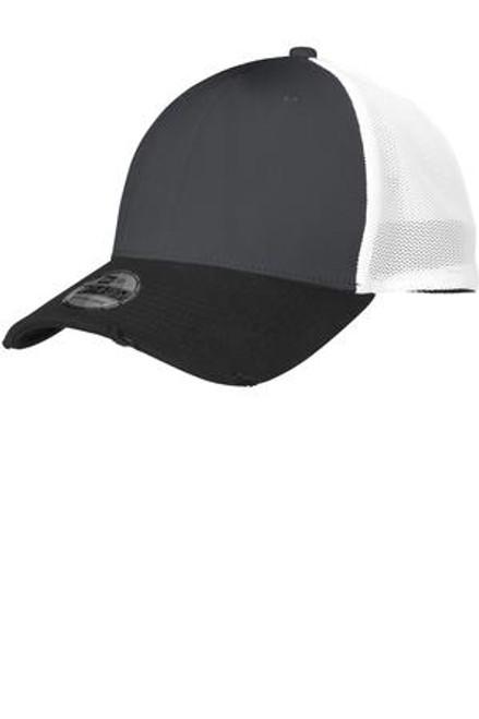 Custom Vintage Mesh Back Distressed Flex NEW ERA Hat
