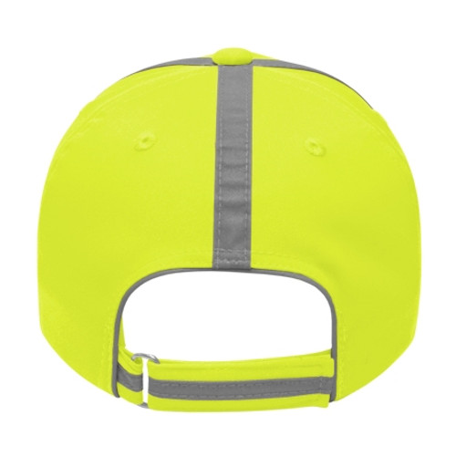 Embroidered Hi Vis Safety Hat with Reflective Fabric
