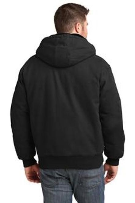 Custom CORNERSTONE Washed Duck Cloth Insulated Hooded Work Jacket