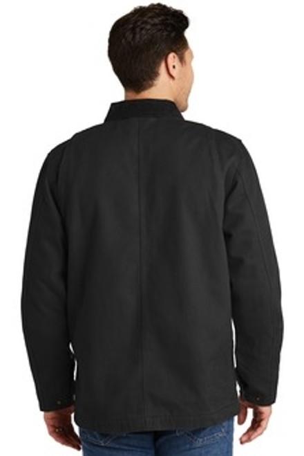 Custom CORNERSTONE Washed Duck Cloth Chore Coat