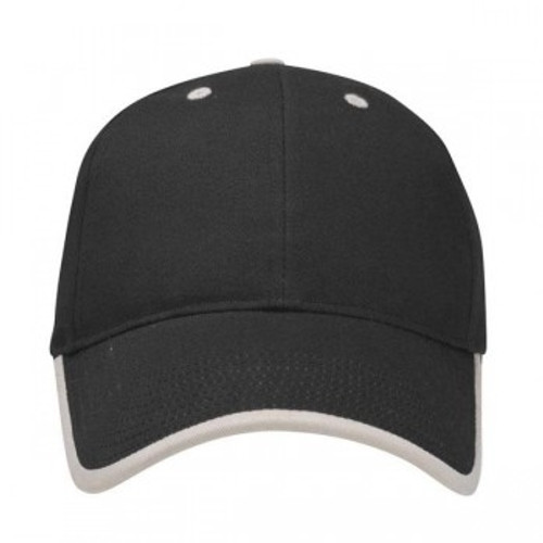 Custom Rally Visor Wrap Brushed Cotton Structured Hat 1