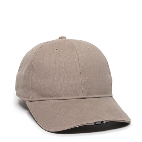 Promotional OC HiBeam® LED Light, Structured Brushed Cotton Hat