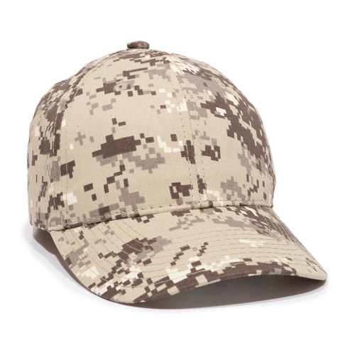 Promotional Structured Military Digital Camo Cap