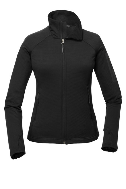 Embroidered The North Face Ladies Mountain Peaks Full-Zip Fleece Jacket NF0A47FE