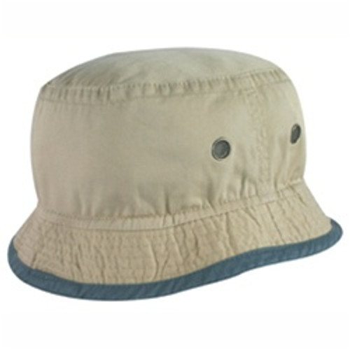 Custom Two Tone Cotton Bucket Hat