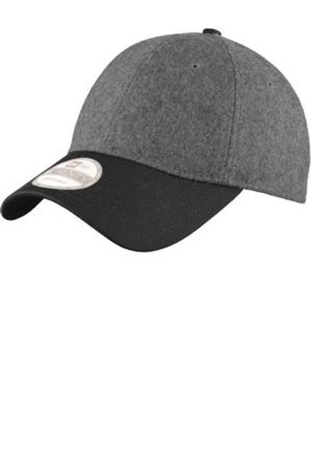 Custom Melton Wool Heathered Colorblock NEW ERA Hat