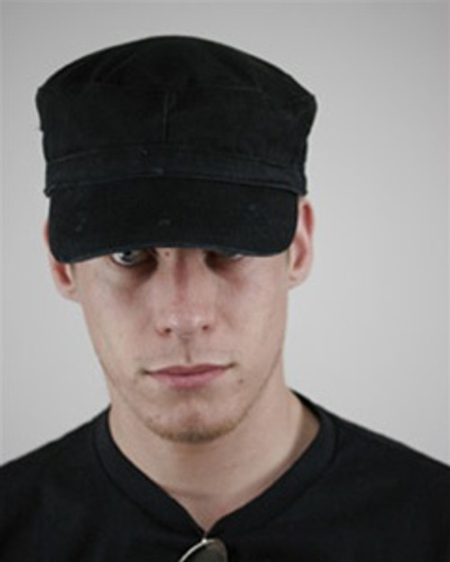 Custom Destroyed Military Cap