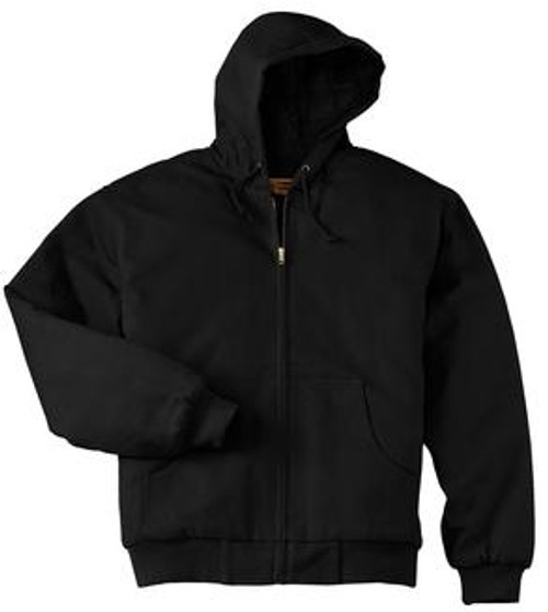 Custom CORNERSTONE Tall Duck Cloth Hooded Work Jacket