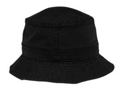 Custom Soft 100% Washed Cotton Sportsman Bucket Hat