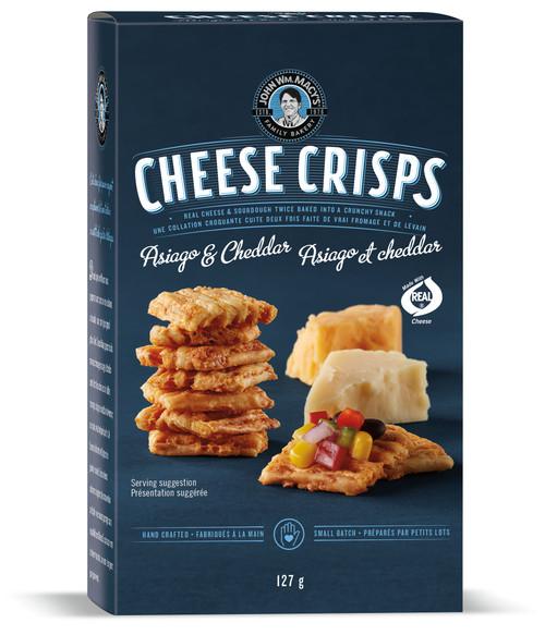 Cheese Crisps - Asiago Cheddar