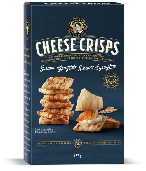 Cheese Crisps - Sesame Gruyere