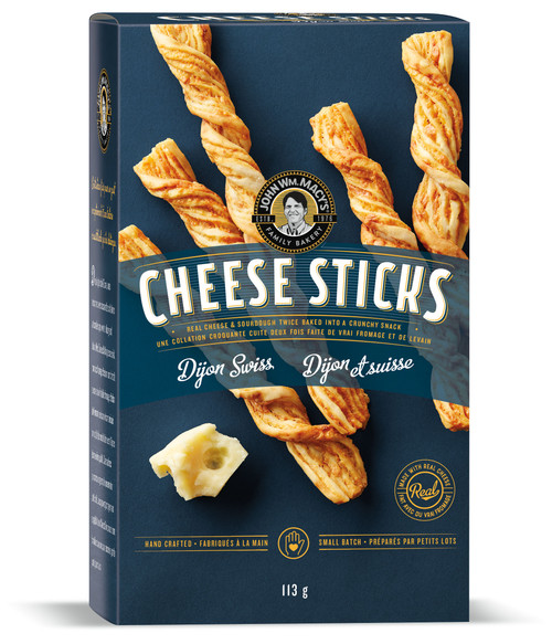 Cheese Sticks - Dijon Swiss