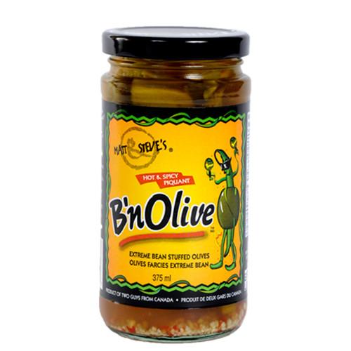B'nOlive - Hot & Spicy Stuffed Olive