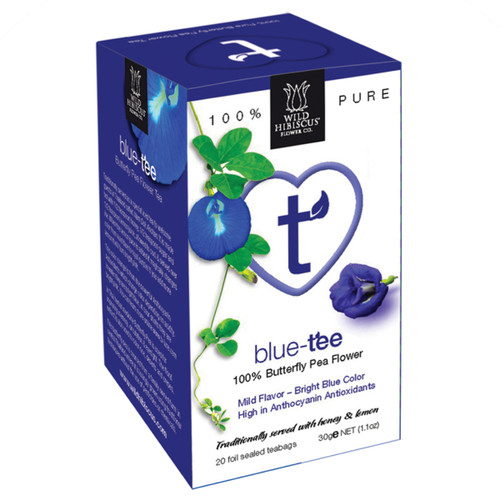 Heart Tea - Blue Butterfly Pea Flower