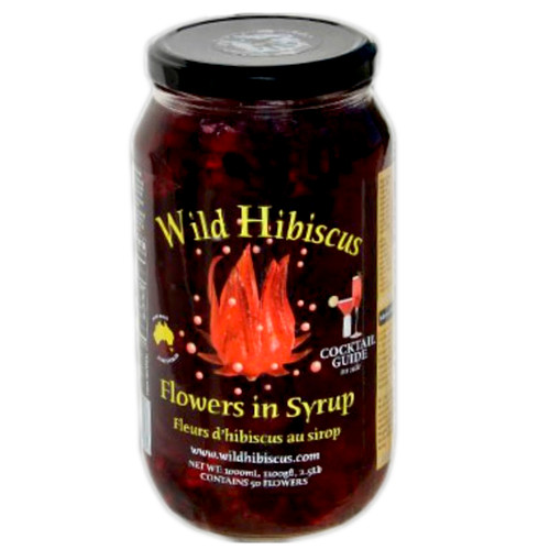 Wild Hibiscus Flowers in Syrup adds a nice touch at your special event!