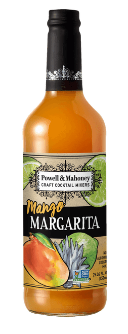 Powell & Mahoney Mango Margarita Craft Cocktail Mixer 750ml