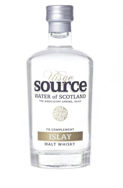 Uisge Source water for Islay Malt Whisky in 100 ml glass bottle