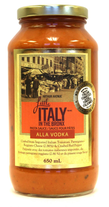 Little Italy in the Bronx Alla Vodka Sauce