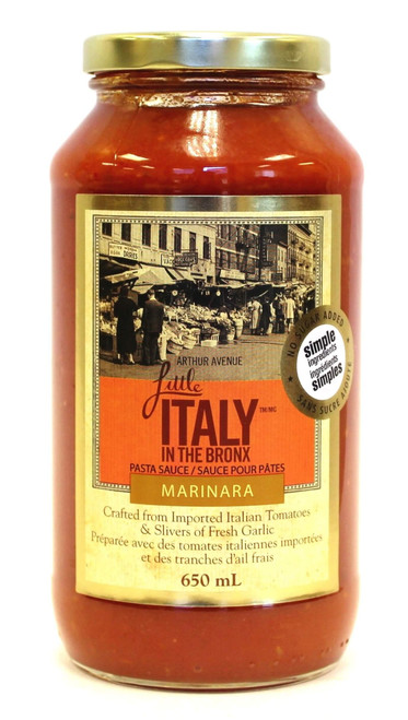 Little Italy in the Bronx Marinara Sauce