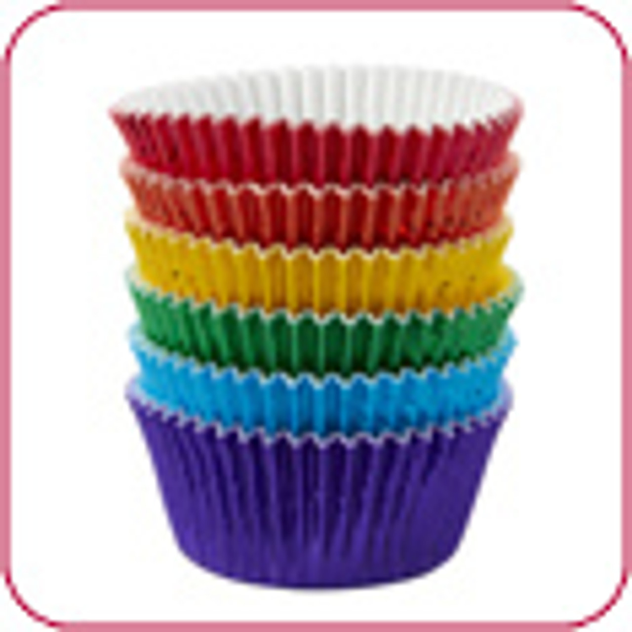 Foil Coloured Baking Cups