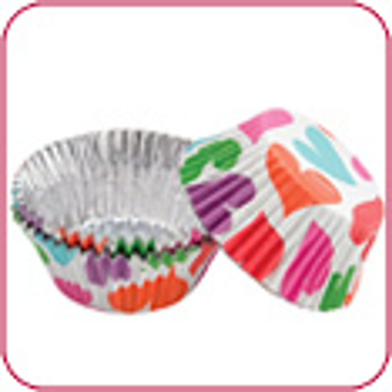 ColorCups - Foil-Lined Baking Cups