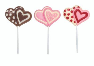 Double Hearts Lollipop Mould - Zoratto Enterprises