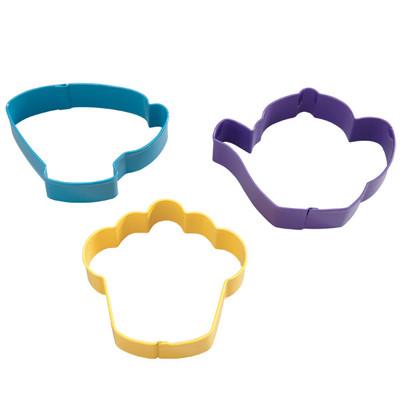 Tea Party 3pc Cookie Cutter Set