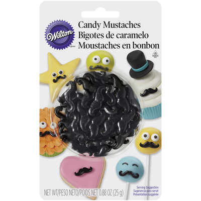 Candy Moustaches, Blister Pack