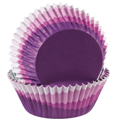 ColourCup Purple Ombre Baking Cups