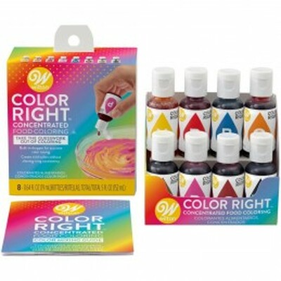 Colour Right Food Colouring System