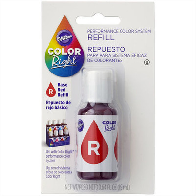 Colour Right Refill Food Colour Red