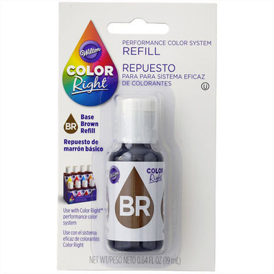 Colour Right Refill Food Colour Brown